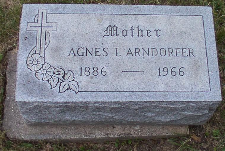Agnes I <i>Mammoser</i> Arndorfer