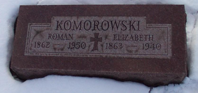 Elizabeth <i>Vogt</i> Komorowski