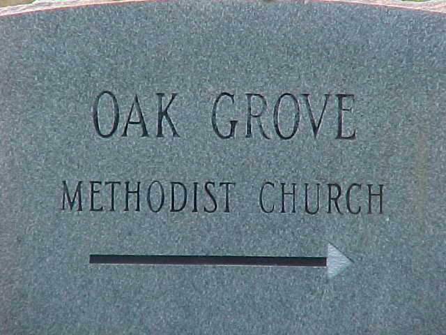 Oak Grove Methodist Church Cemetery