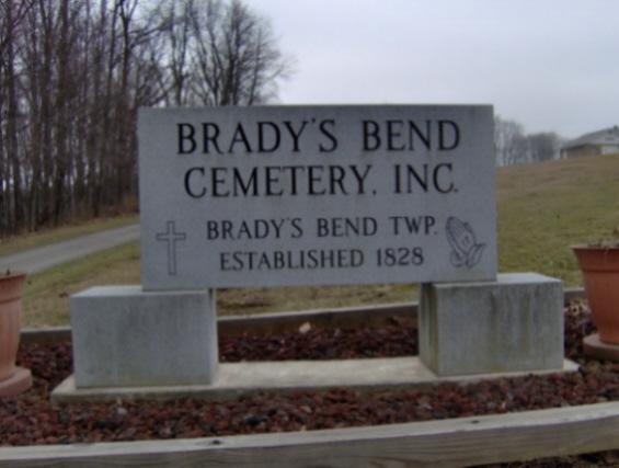 Bradys Bend  Cemetery
