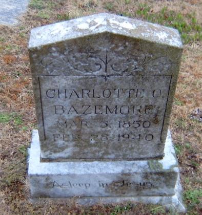 Charlotte O. Bazemore