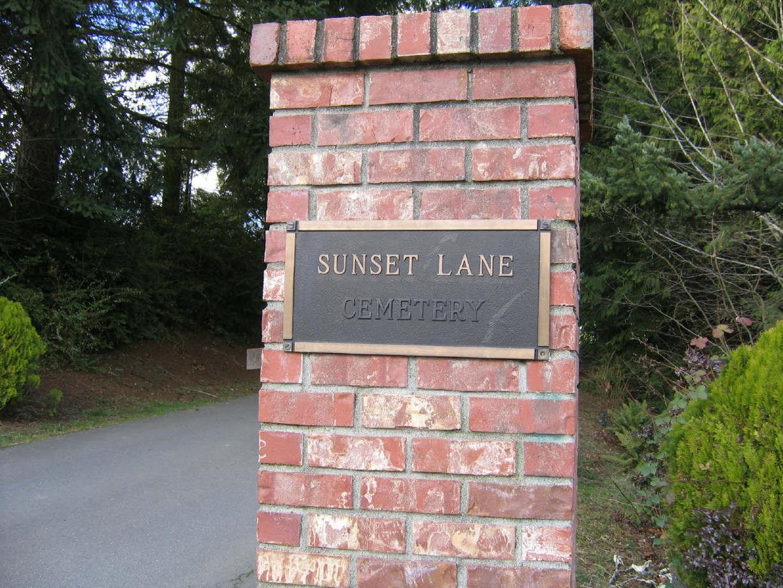 Sunset Lane Memorial Park