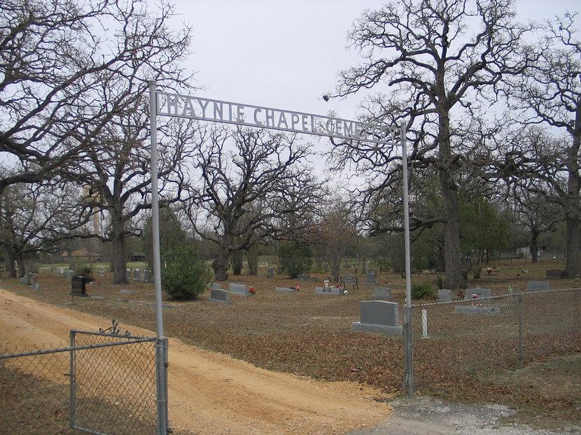 Haynie Chapel Cemetery