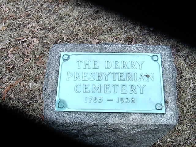 Derry Presbyterian Cemetery