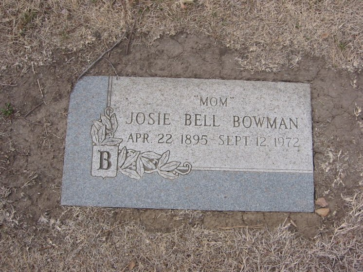 Josie Belle <i>Martin</i> Bowman