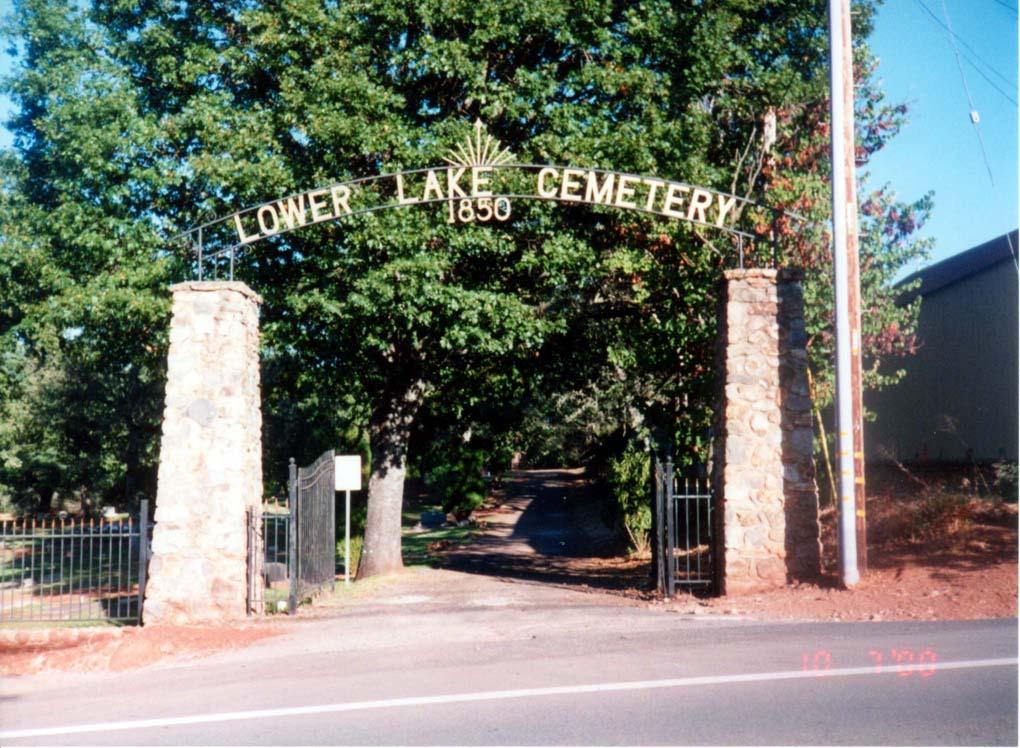 Lower Lake Cemetery
