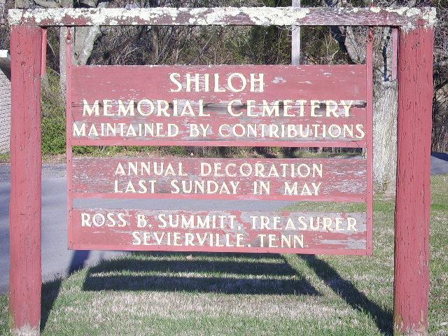 Shiloh Memorial Cemetery