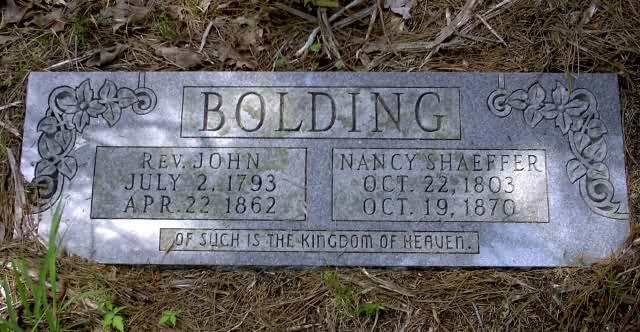 Nancy <i>Shaeffer</i> Bolding