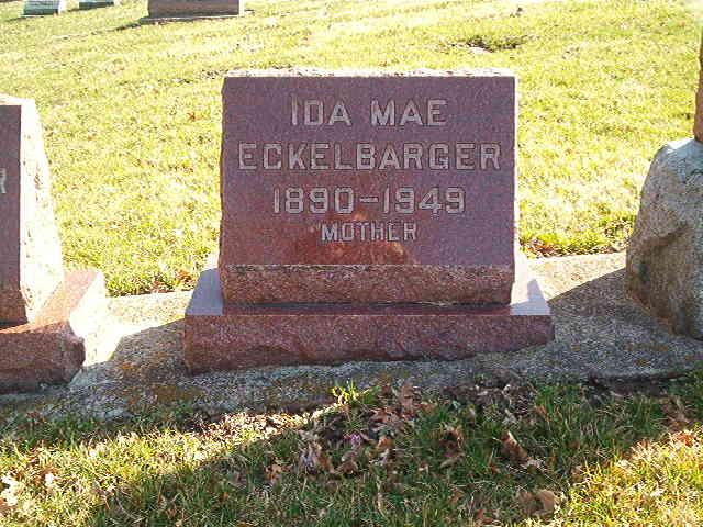 Ida Mae <i>Ramer</i> Eckelbarger