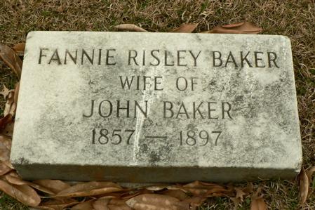 Fannie <i>Risley</i> Baker