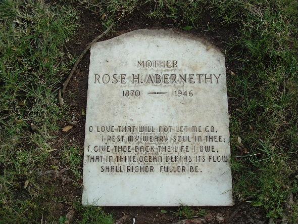 Carrie Rosalyn Rose <i>Husted</i> Abernethy