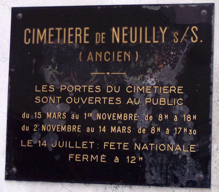Cimetière de Neuilly-sur-Seine (Ancien)