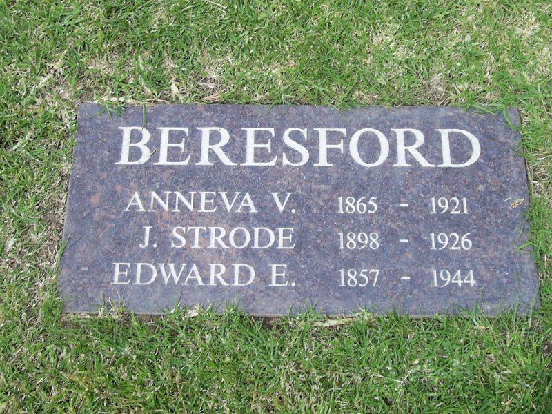 Anneva V <i>Bradbury</i> Beresford
