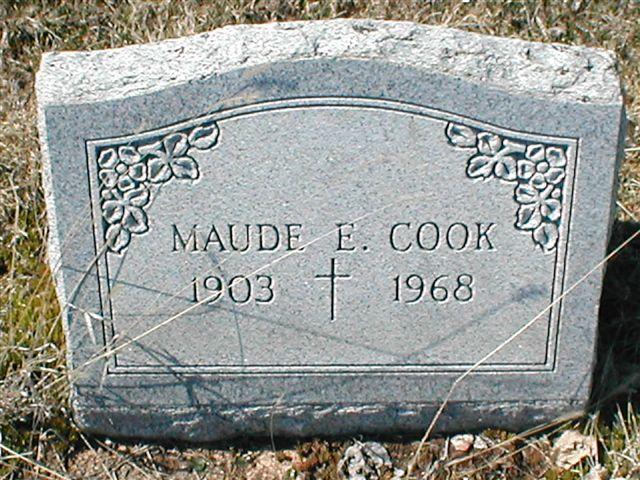 Maude E. Cook