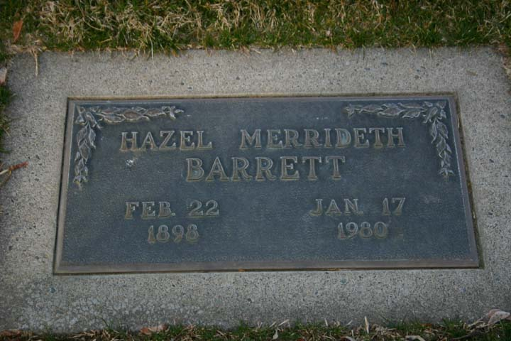 Hazel Merrideth <i>French</i> Barrett