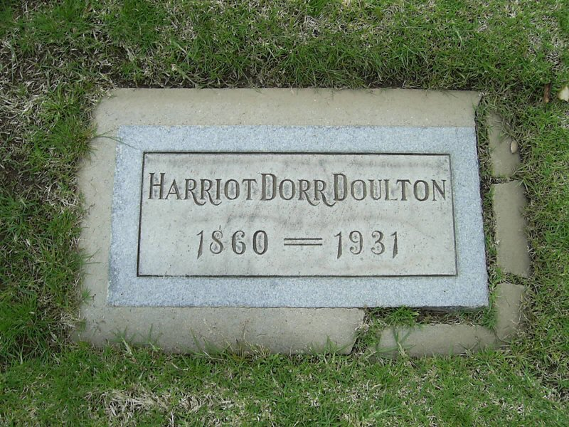 Harriot Dorr <i>Schaffer</i> Doulton