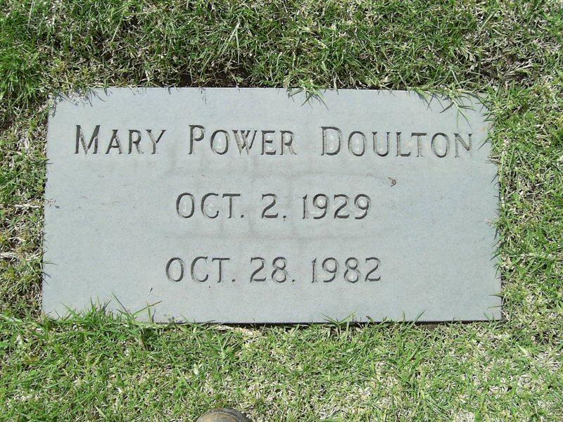 Mary Christine <i>Power</i> Doulton