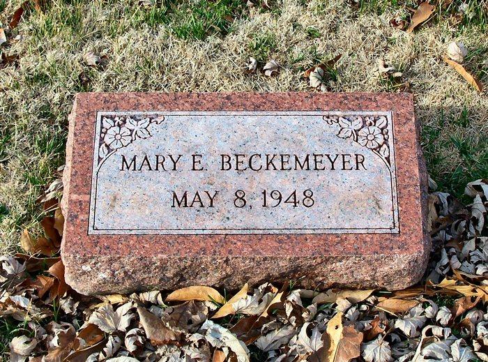 Mary Ellen Beckemeyer