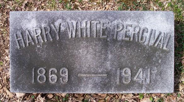 Harry White Percival