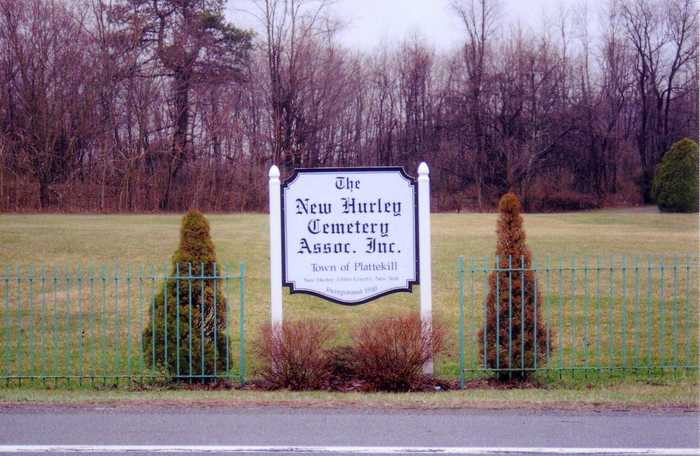 New Hurley Reformed Church Cemetery