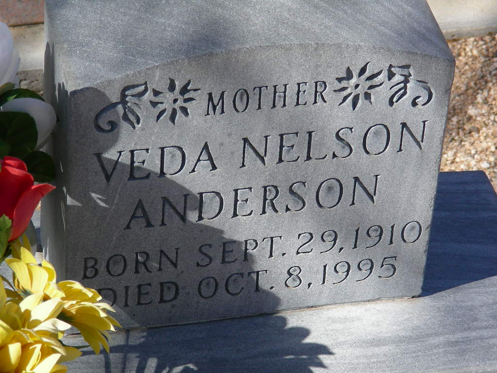 Veda <i>Nelson</i> Anderson