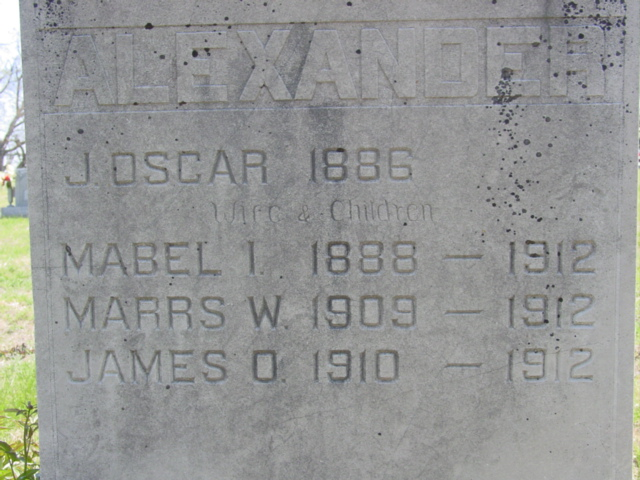 Mabel Irene <i>Marrs</i> Alexander