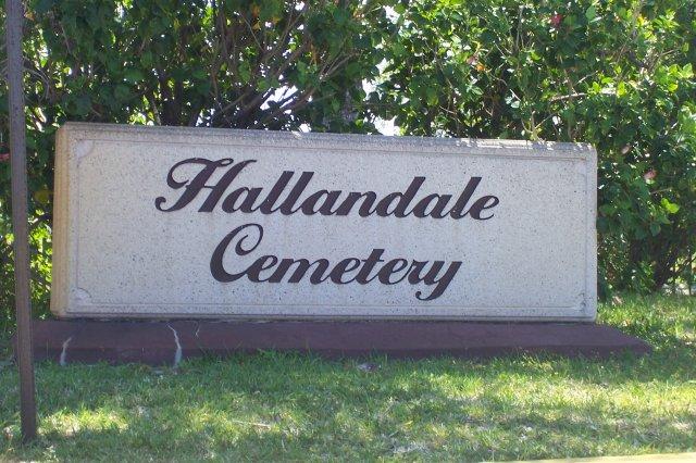 Hallandale Cemetery