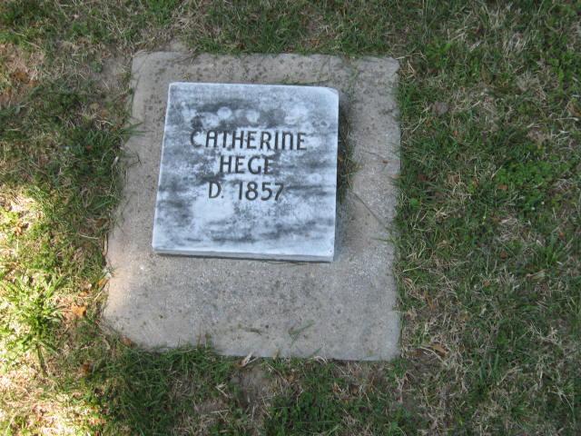 Catherine <i>Wesner</i> Hege