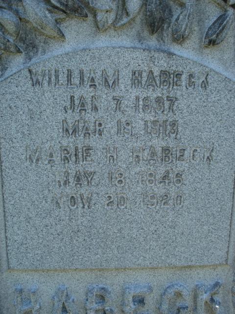 William H Habeck, II