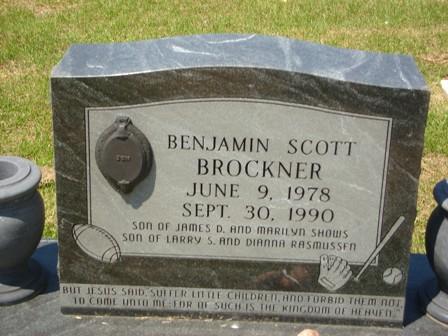 Benjamin Scott Brockner