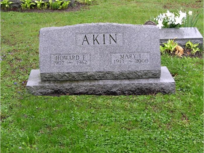 Mary Isabelle <i>Hill</i> Akin