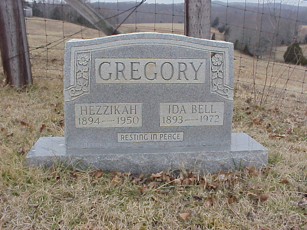 Ida Bell <i>Pate</i> Gregory