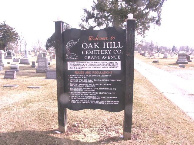 Oak Hill Grant Avenue Cemetery