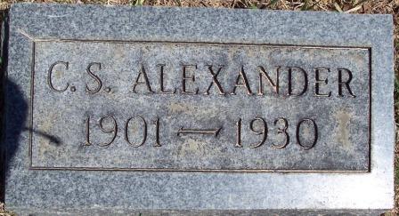 Chester Sherman C.S. Alexander