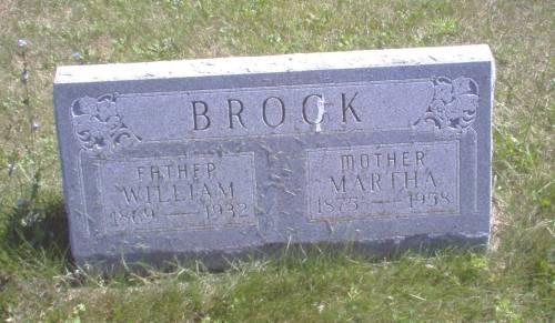 Martha <i>Schaaf</i> Brock