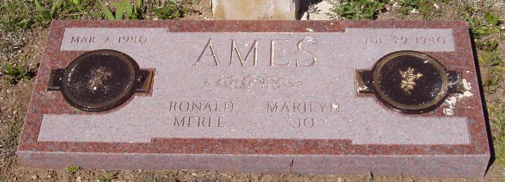 Ronald Merle Ames
