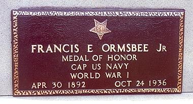 Francis Edward Ormsbee, Jr