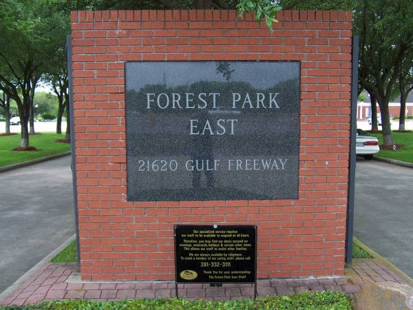 Forest Park East Cemetery