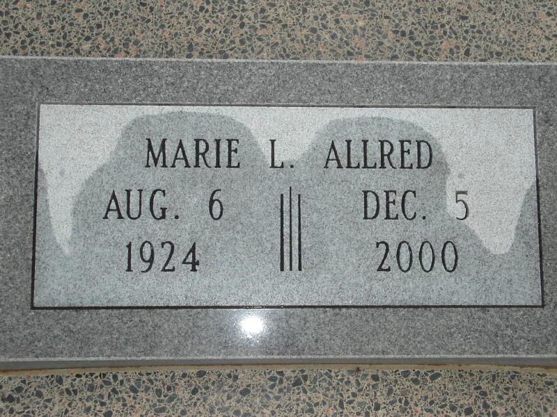 Marie L. <i>Hoyt</i> Allred