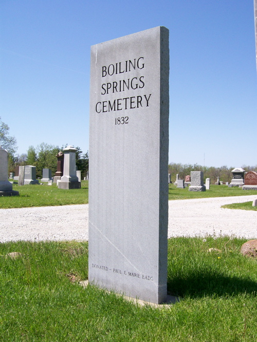 Boiling Springs Cemetery