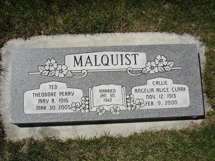 Angelia Alice <i>Clark</i> Malquist