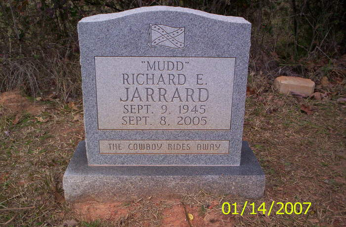 Richard E. MUDD Jarrard