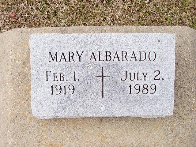 Mary Albarado