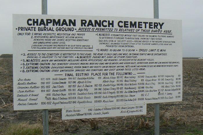 Chapman Ranch Cemetery