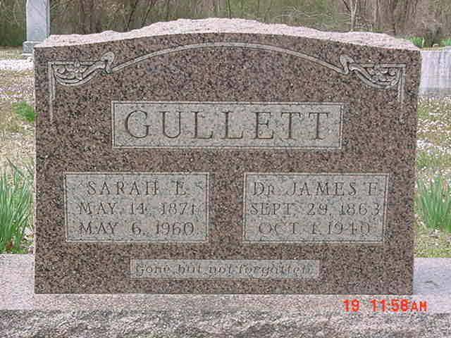 Dr James Gullett