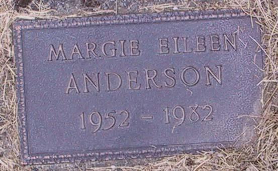 Margie Eileen Anderson