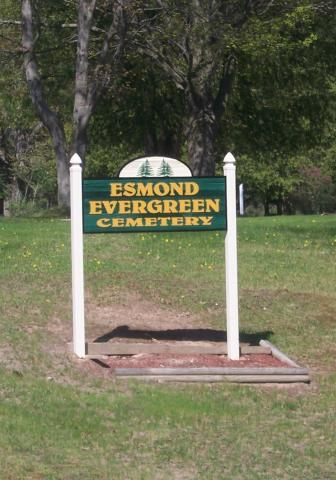 Esmond Evergreen Cemetery