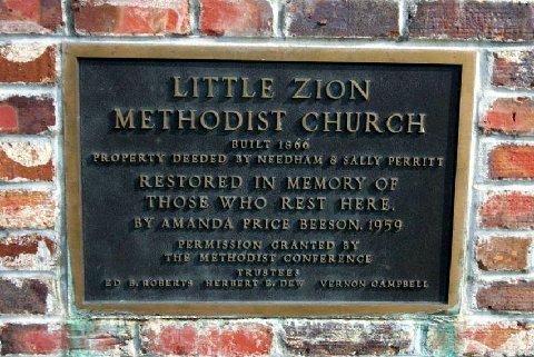 Little Zion Methodist Church Cemetery