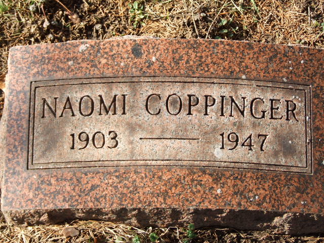 Naomi Pearl Brownie <i>Spencer</i> Coppinger