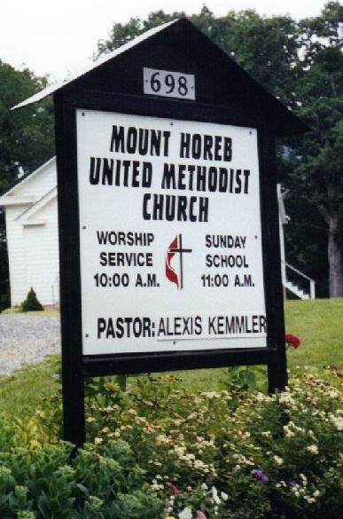 Mount Horeb United Methodist Church Cemetery